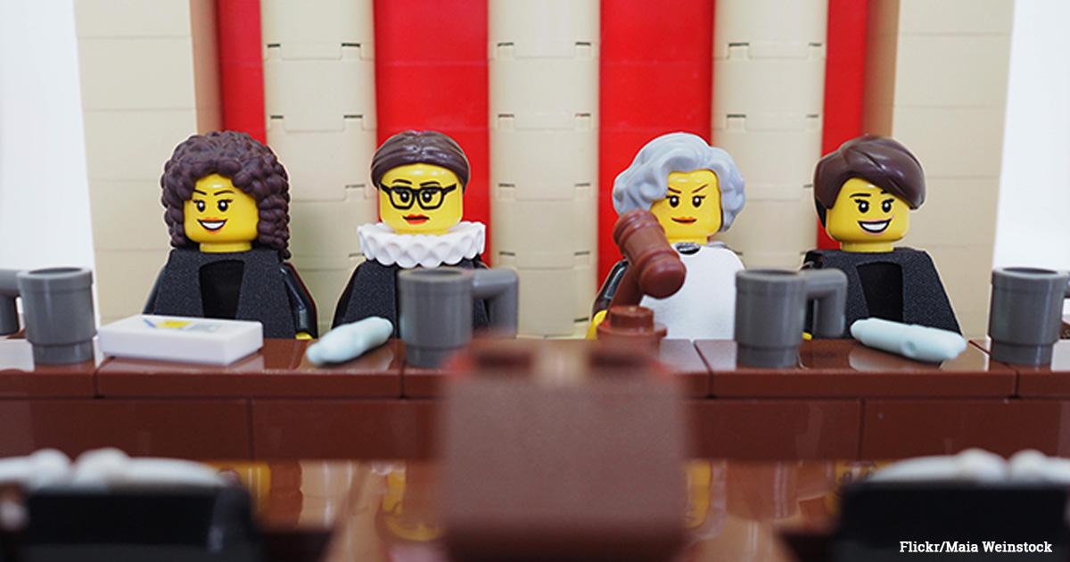Lego SCOTUS Justices