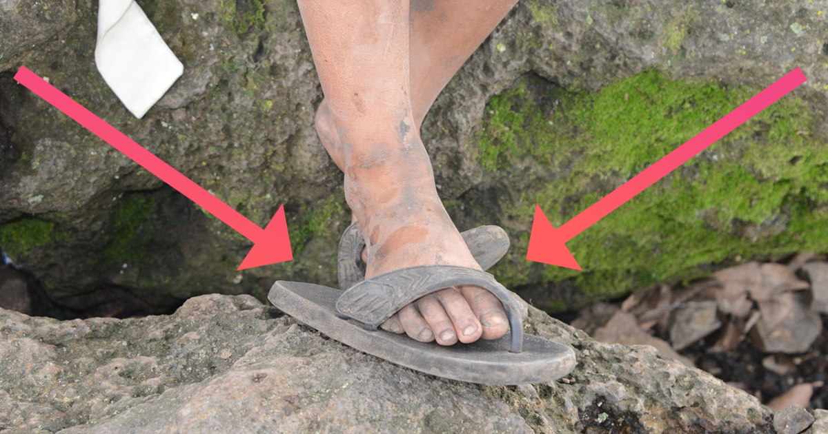 Flip Flops Are Destroying The Planet Attn