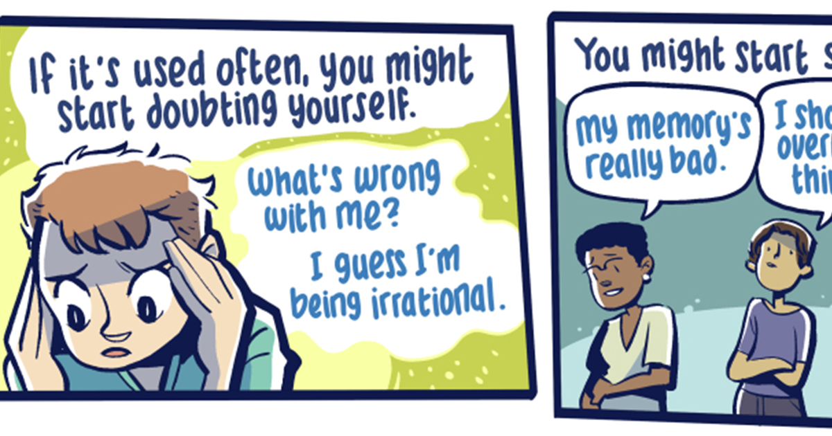 Comic Highlights the Form of Abuse Called Gaslighting - ATTN: