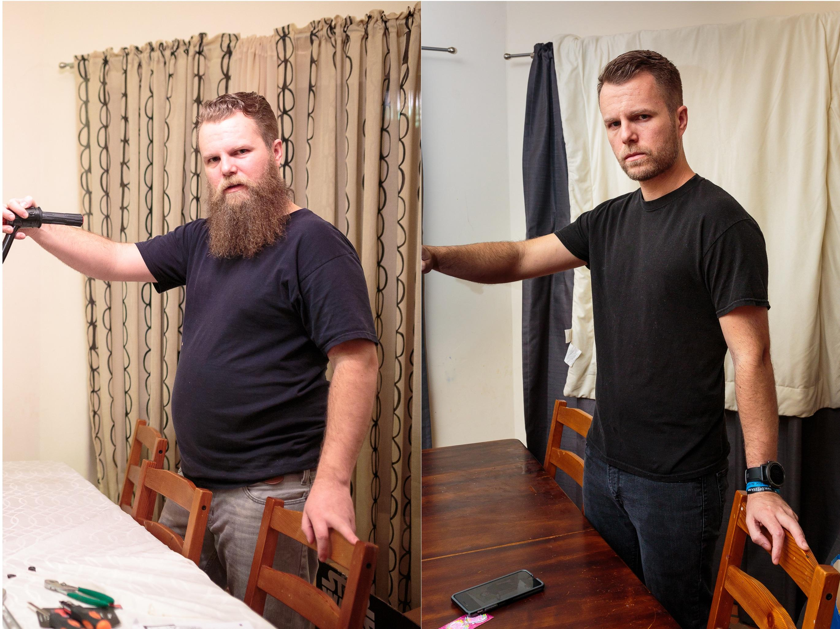 before and after drinking