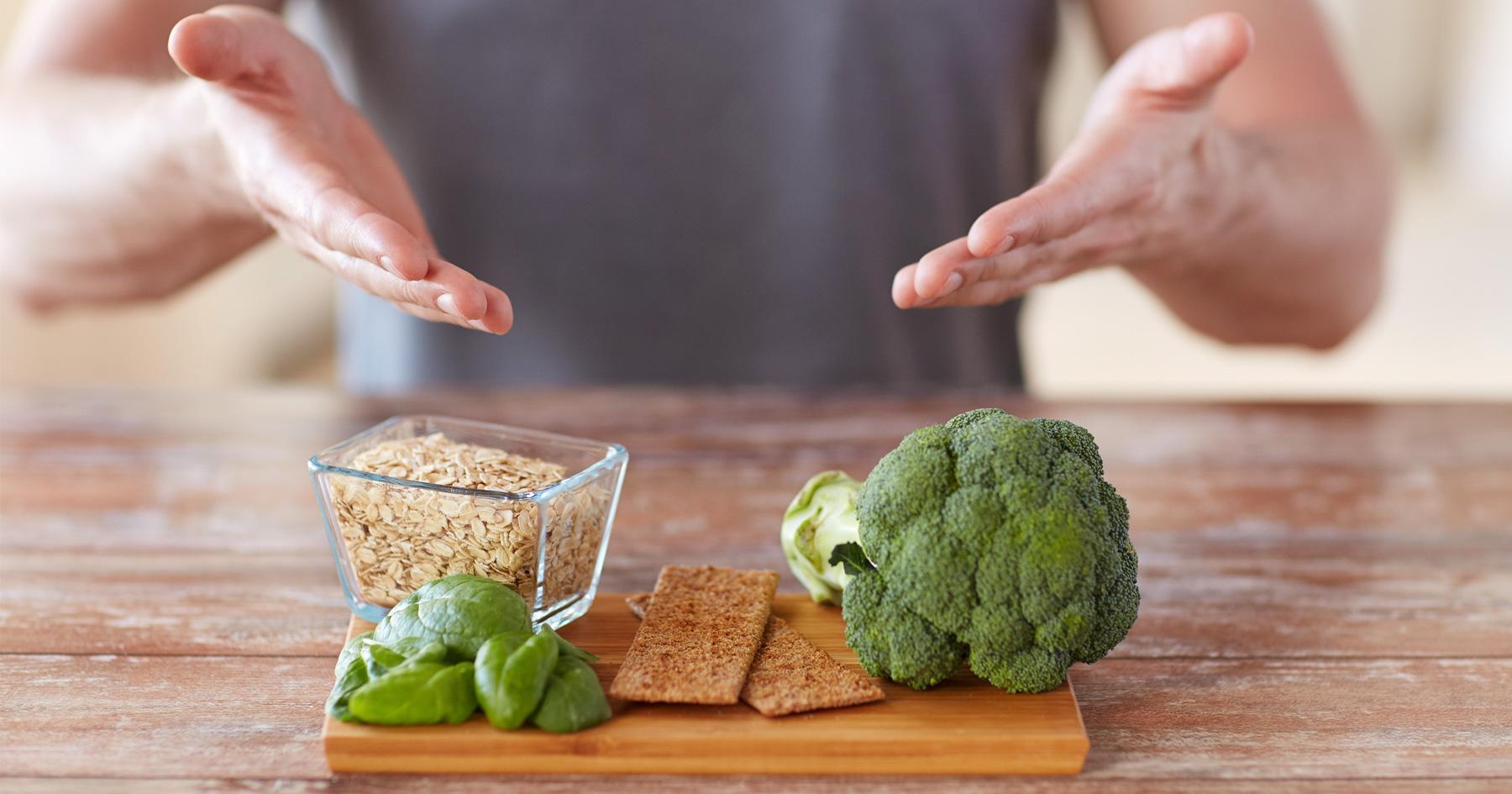 healthy-food-on-a-cutting-board