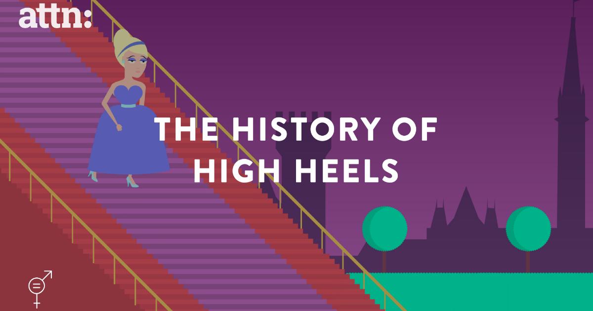 Dulunya Sepatu High Heels Itu Untuk Pria, Tetapi Sekarang…