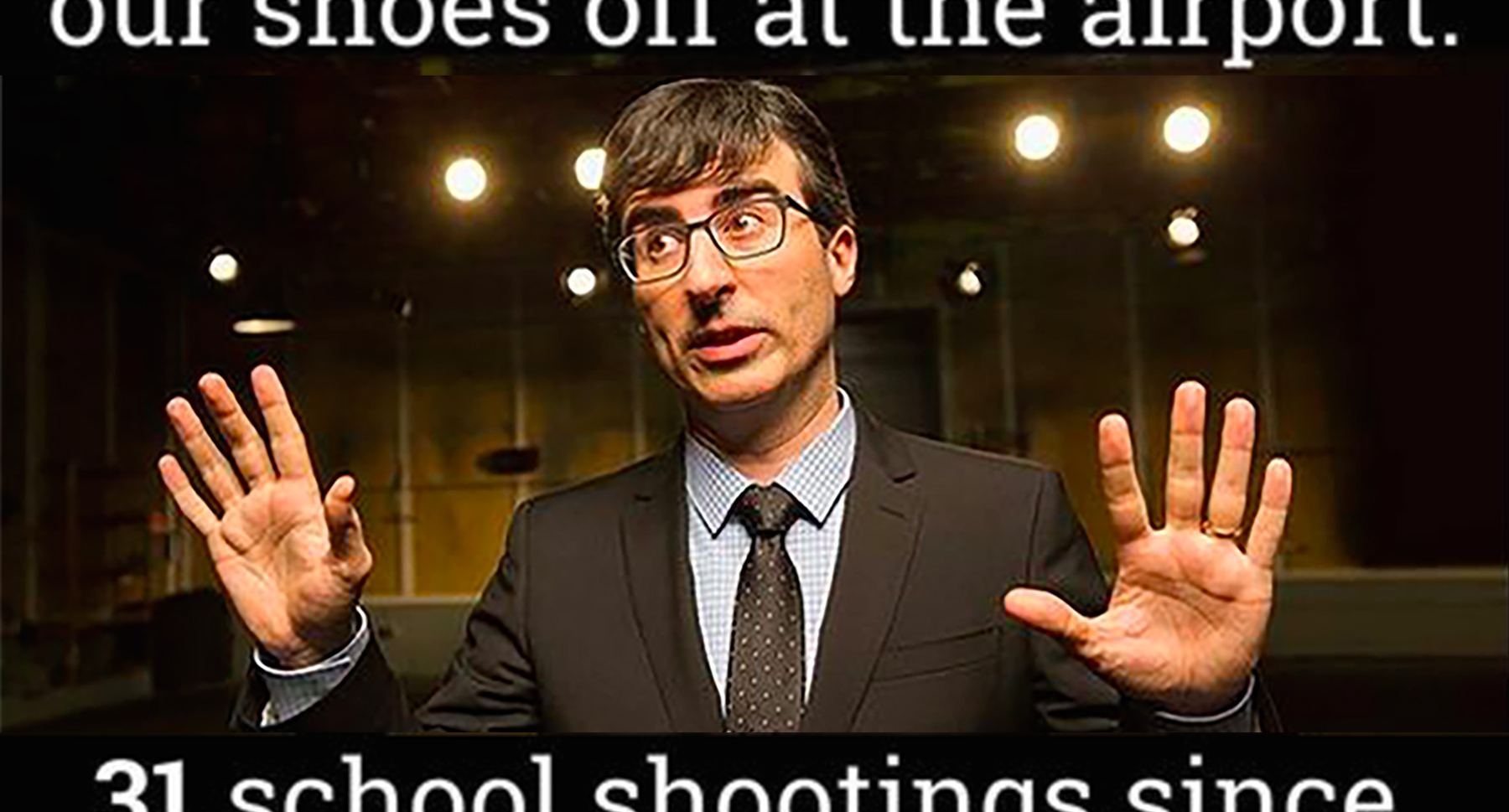 Quotes On Gun Control John Oliver Meme On Gun Control  Attn