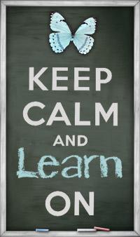 Keep calm and learn on