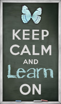 Keep calm and learn on