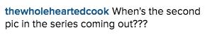 Instagram Gorman comment