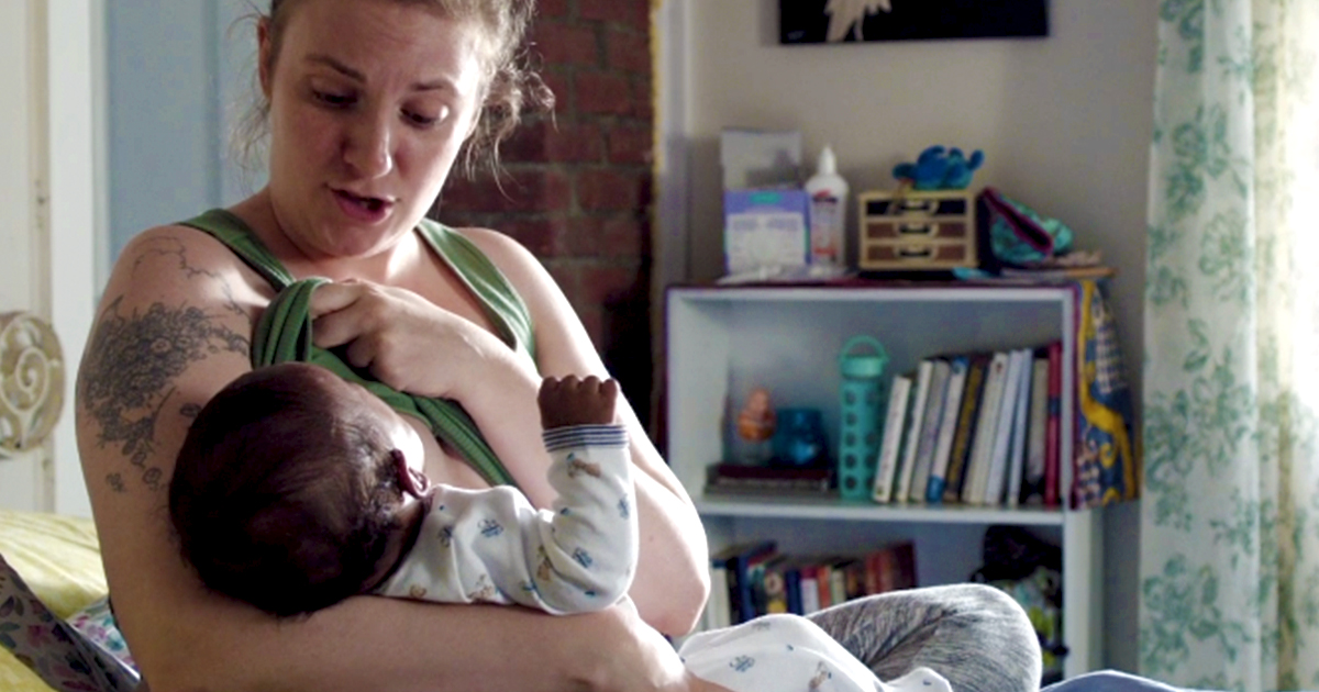 Hannah Horvath welcomes baby Grover on Girls series finale