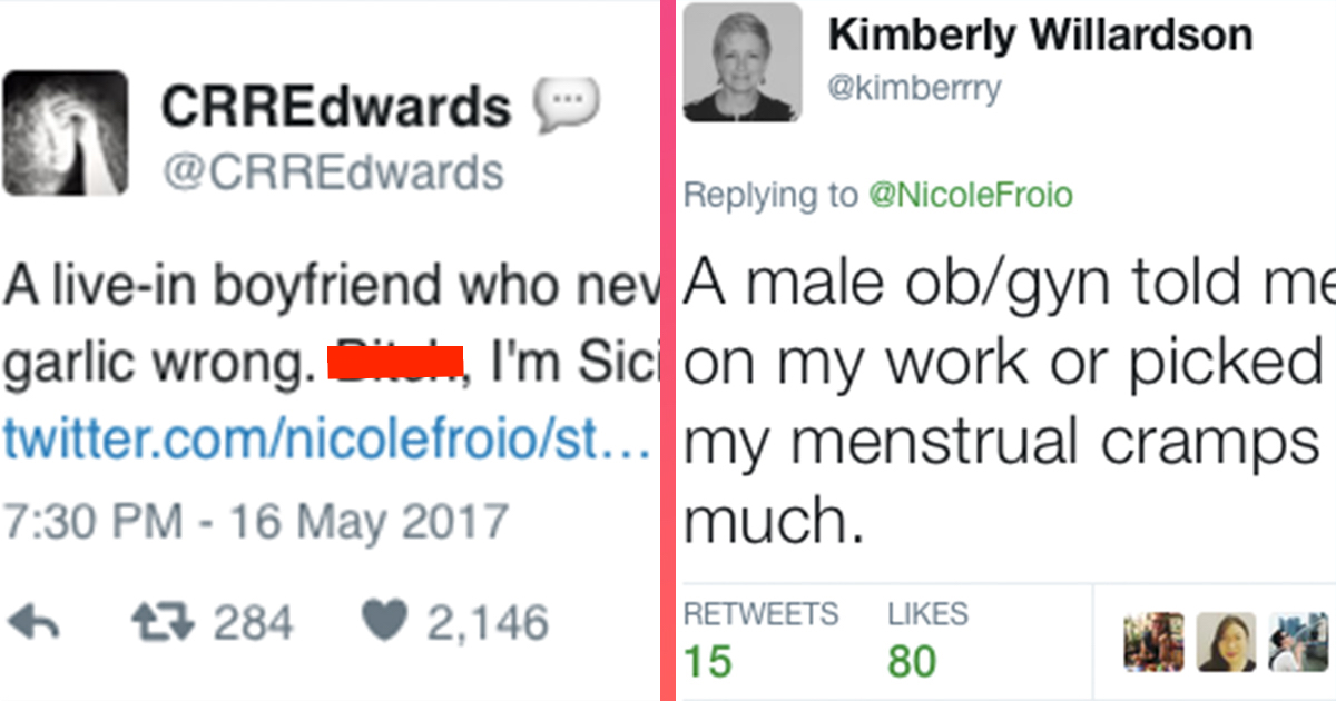 women share mansplaining examples