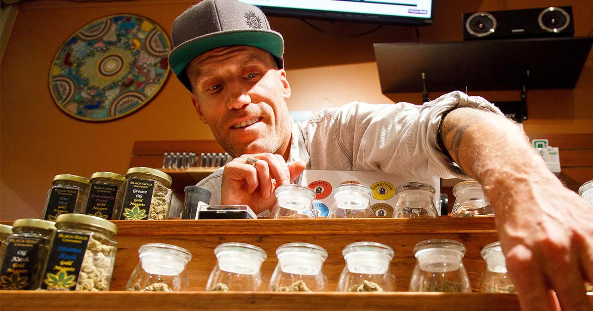 man-working-in-marijuana-dispensary