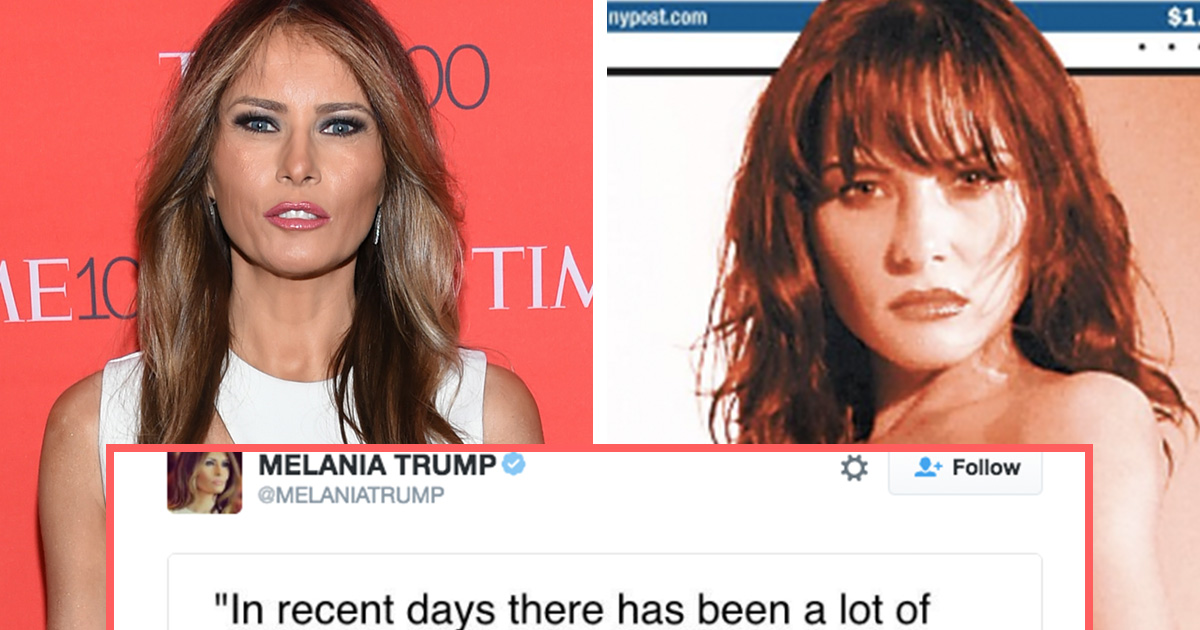 The stunning transformation of Melania Trump