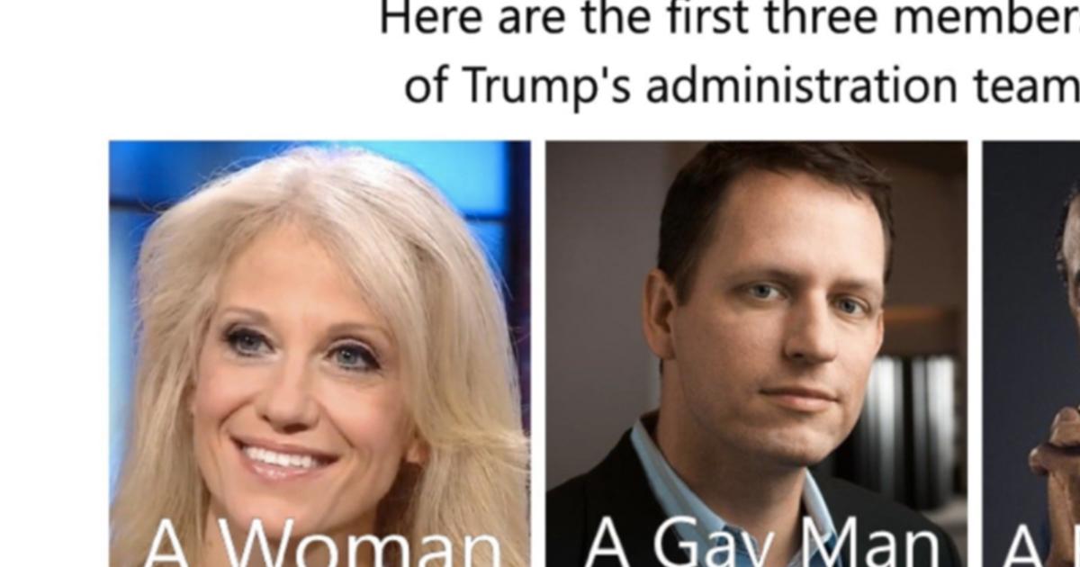 Meme Shows Possible Trump Advisors - ATTN: