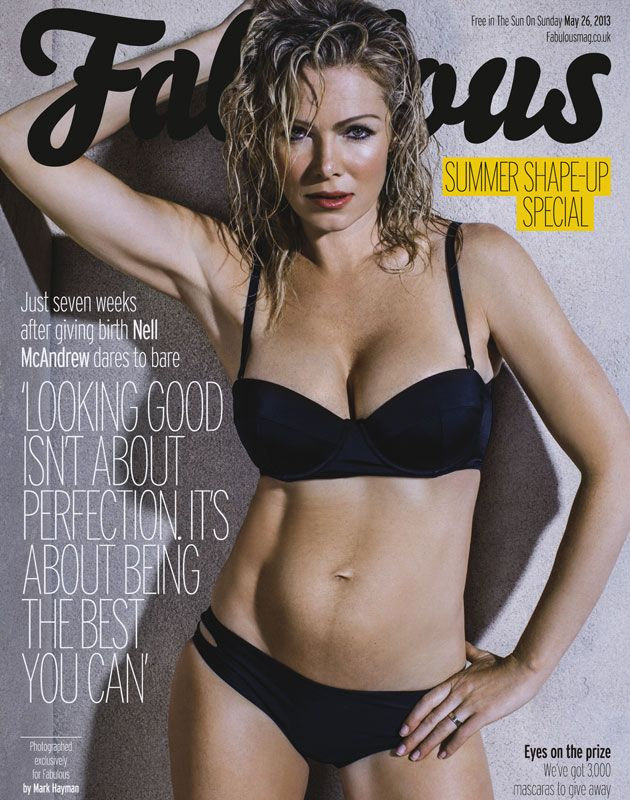 Bikini body magazine cover