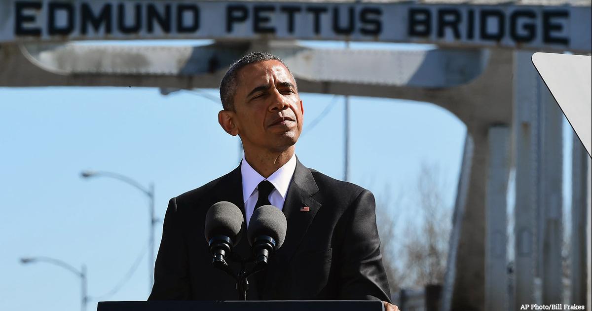 Obama Speaks at Selma 50th Anniversary