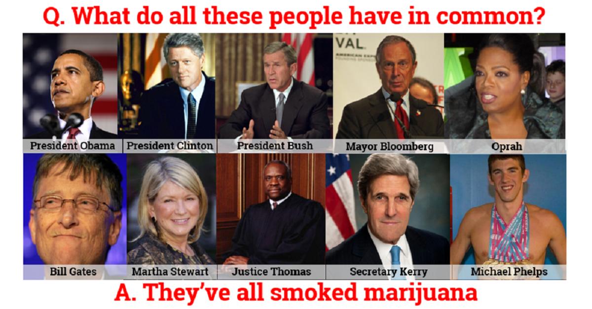 people who've smoked weed