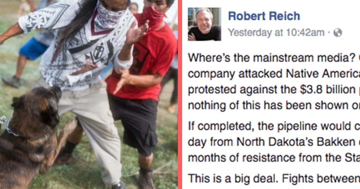 reich_pipeline native american tribe protests oil pipeline attn