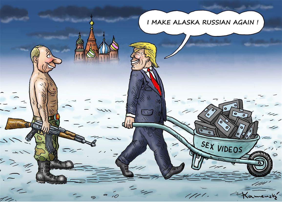Make Alaska Russian Again