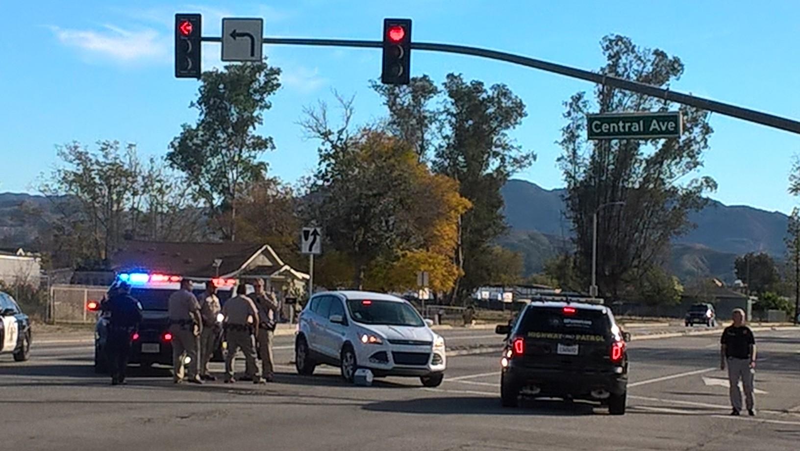 Scene of the shooting in San Bernardino, California
