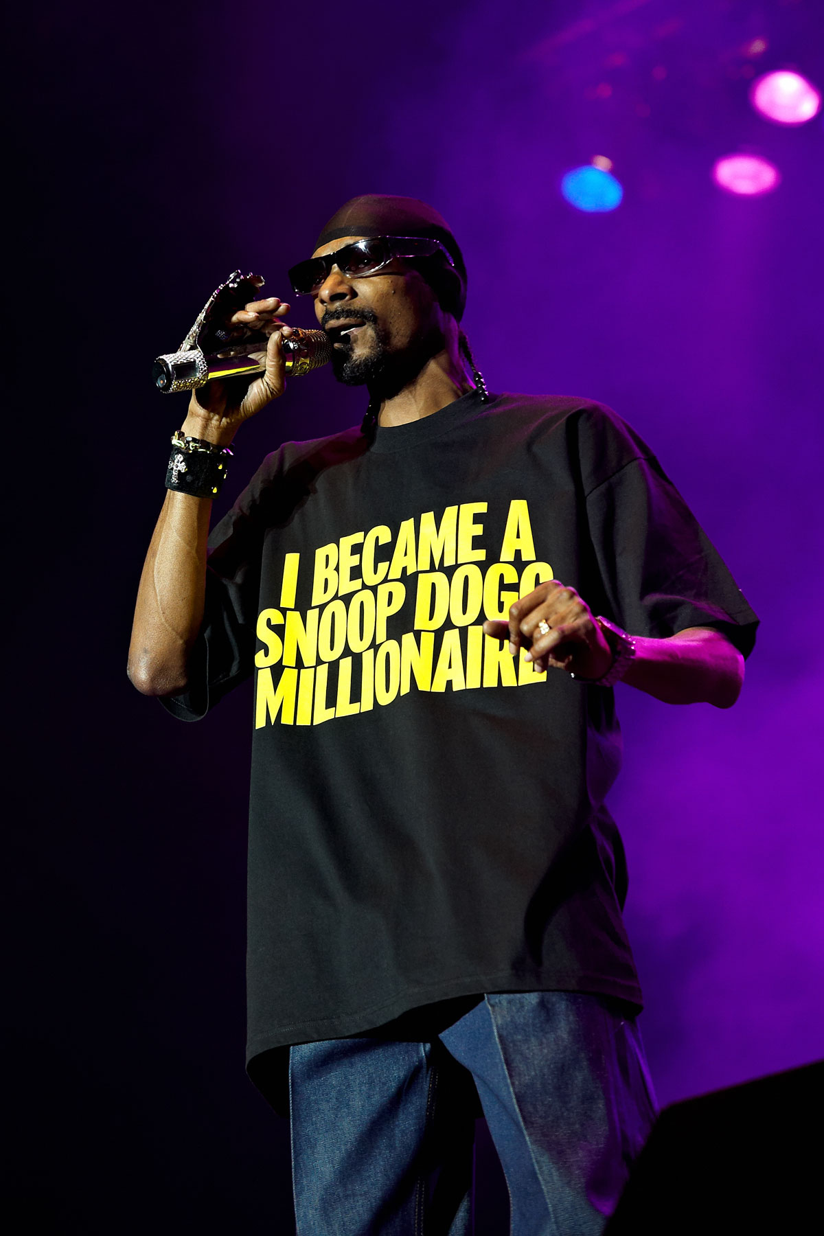 Snoop Dogg is planning on being more than a millionaire
