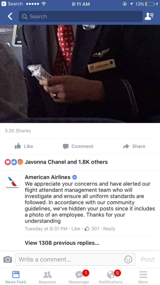 American Airlines Hides Black Lives Matter Button - ATTN: