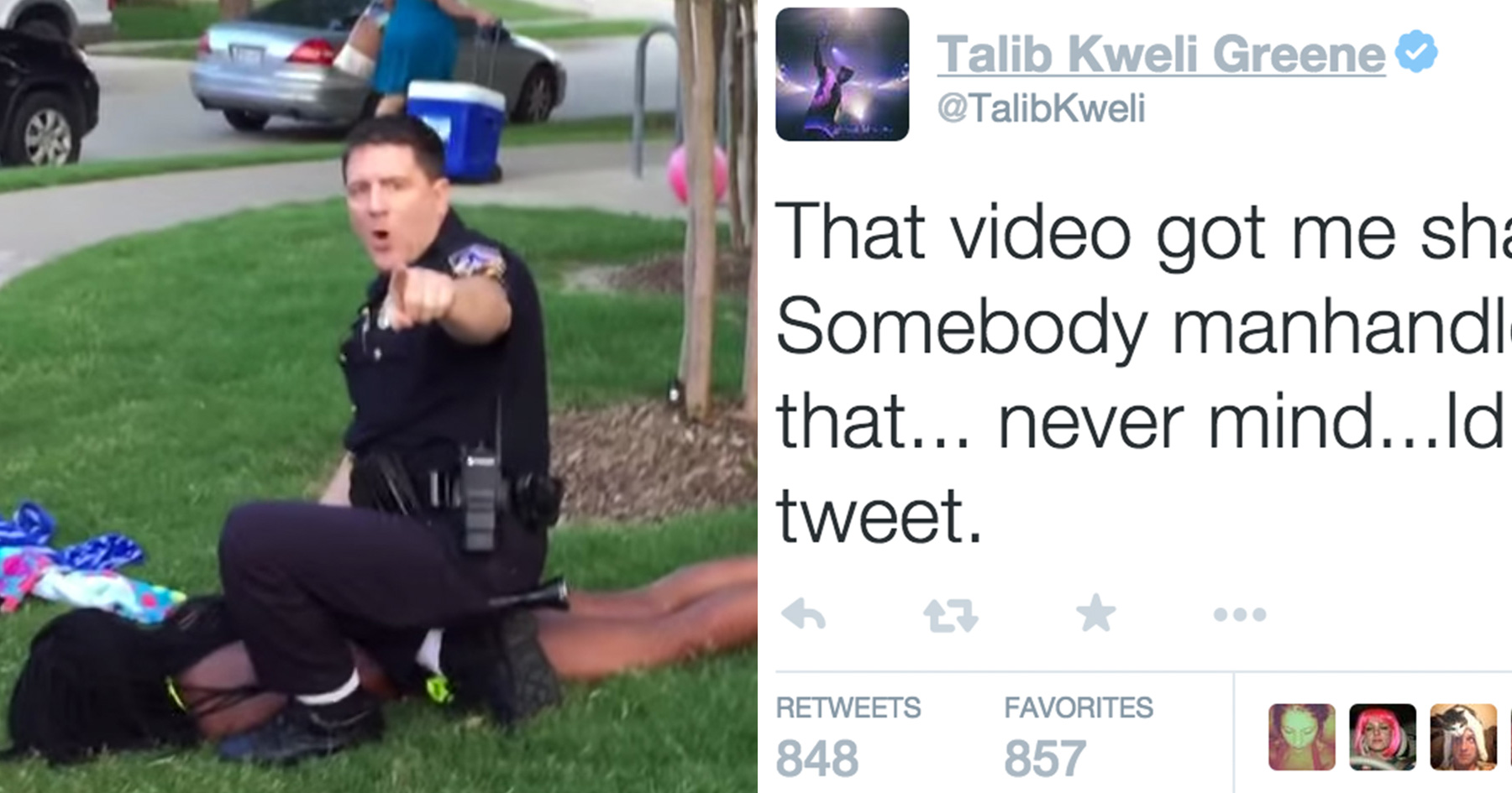13 Powerful Twitter Responses To The Police In McKinney