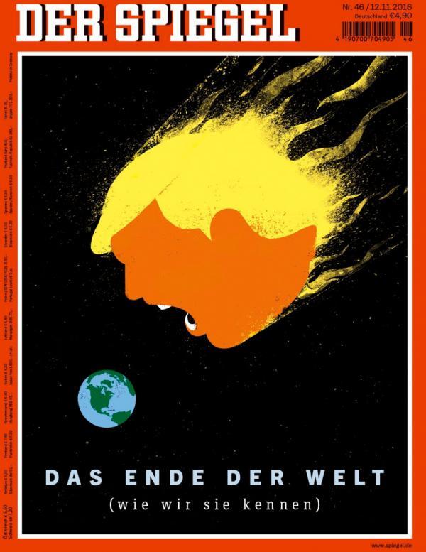 Trump in German Newspaper