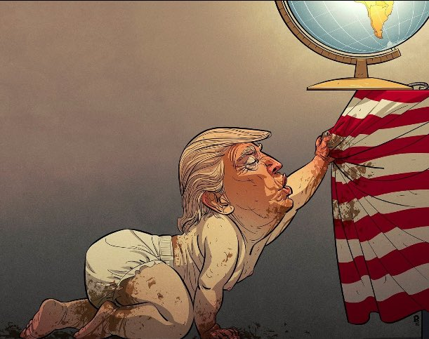An Angry Carnival:  The Trump Administration - Magazine cover