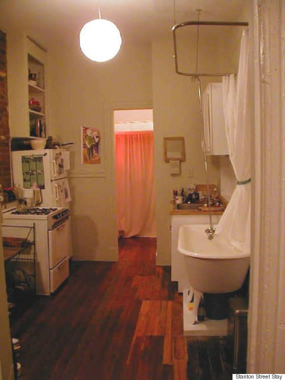 Bathtub in Kitchen