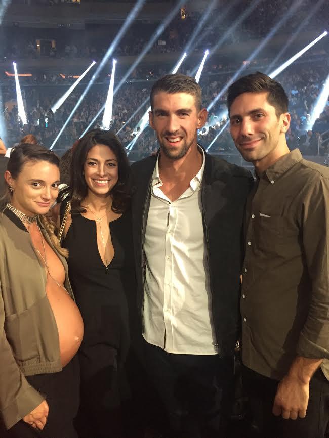 Laura Perlongo, Nev Schulman, Michael Phelps, Nicole Johnson MTV VMAs