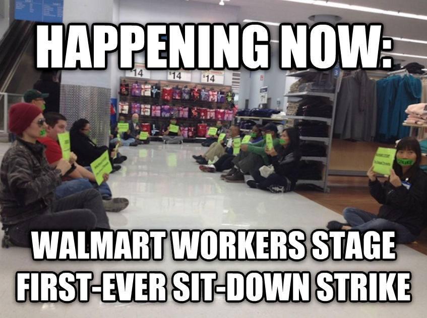 Walmart Strike