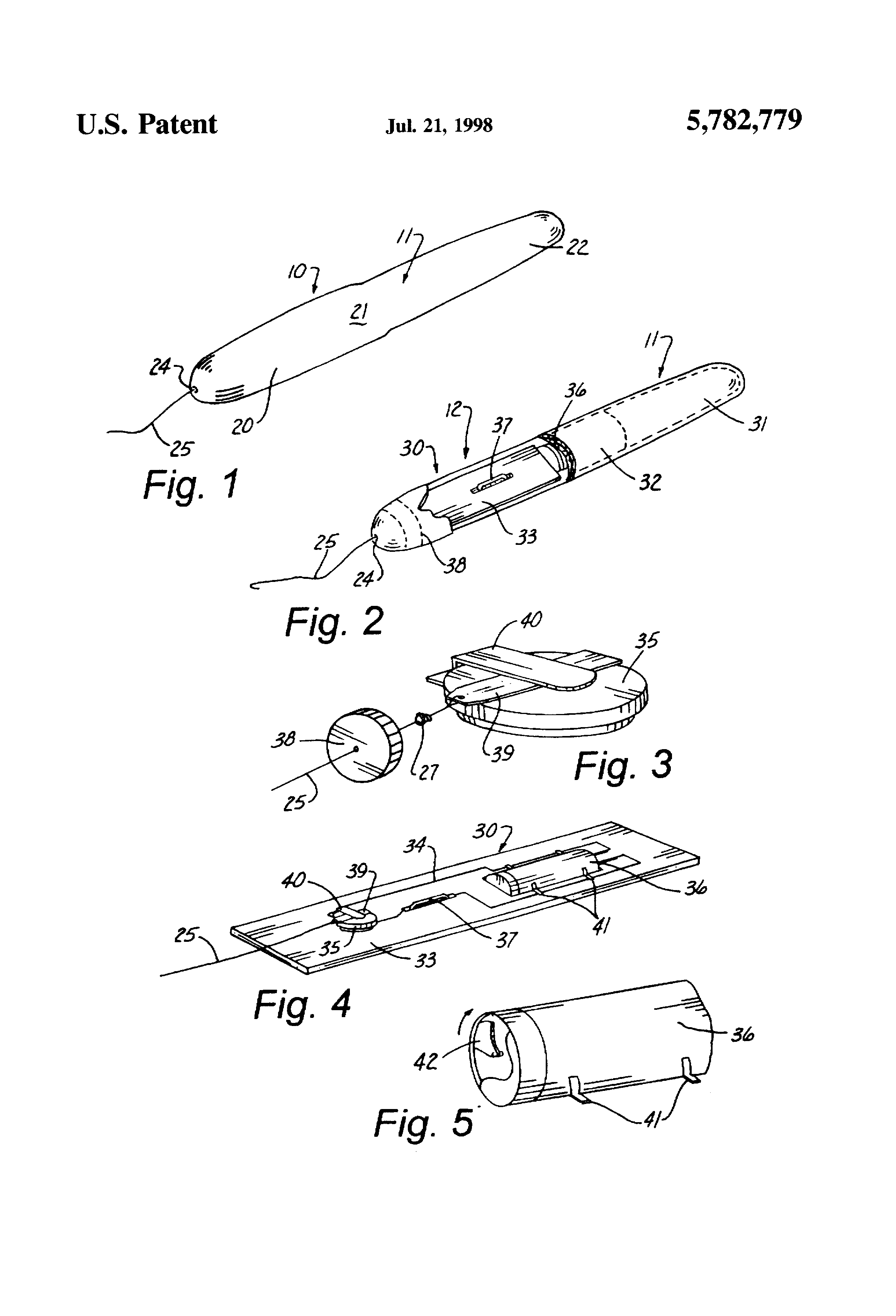 diagram of vibrating tampon for patent