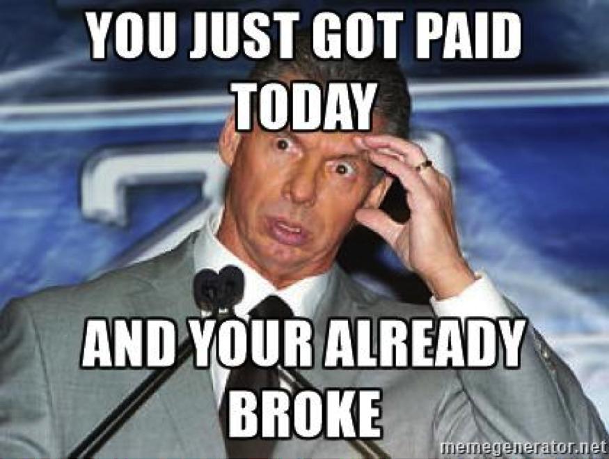 A Vince McMahon meme.