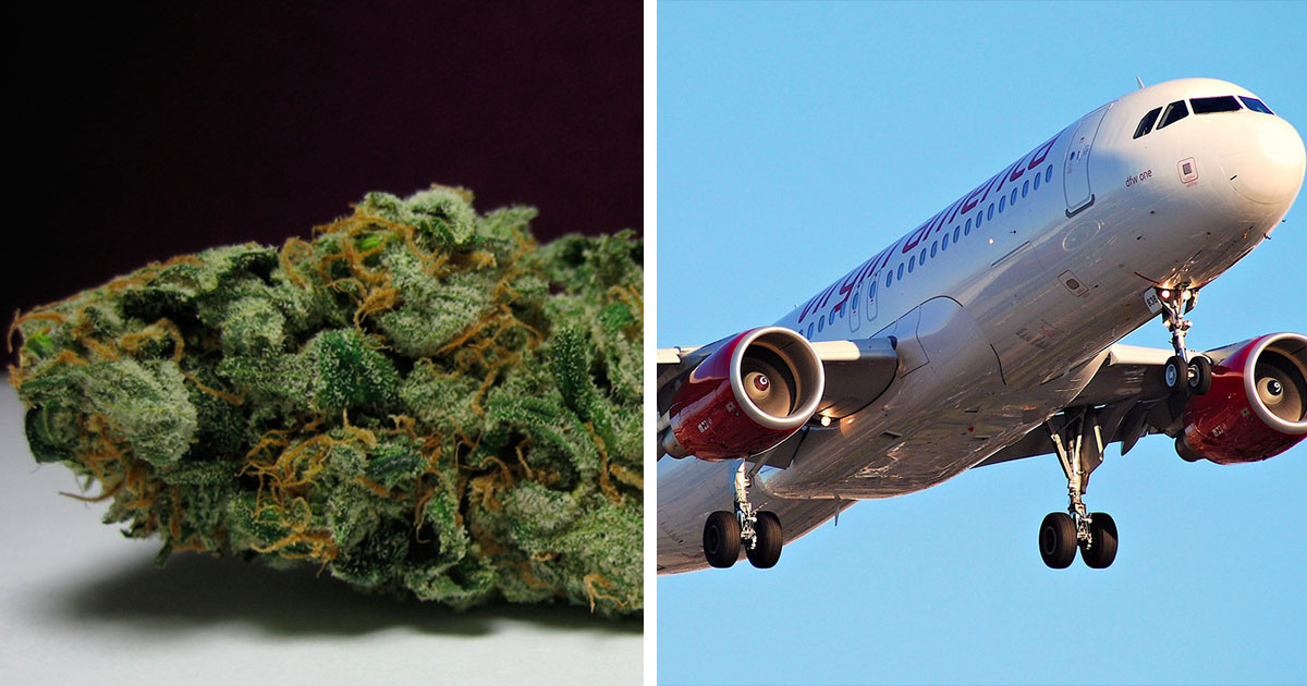 The Rules for Taking Marijuana on an Airplane - ATTN: