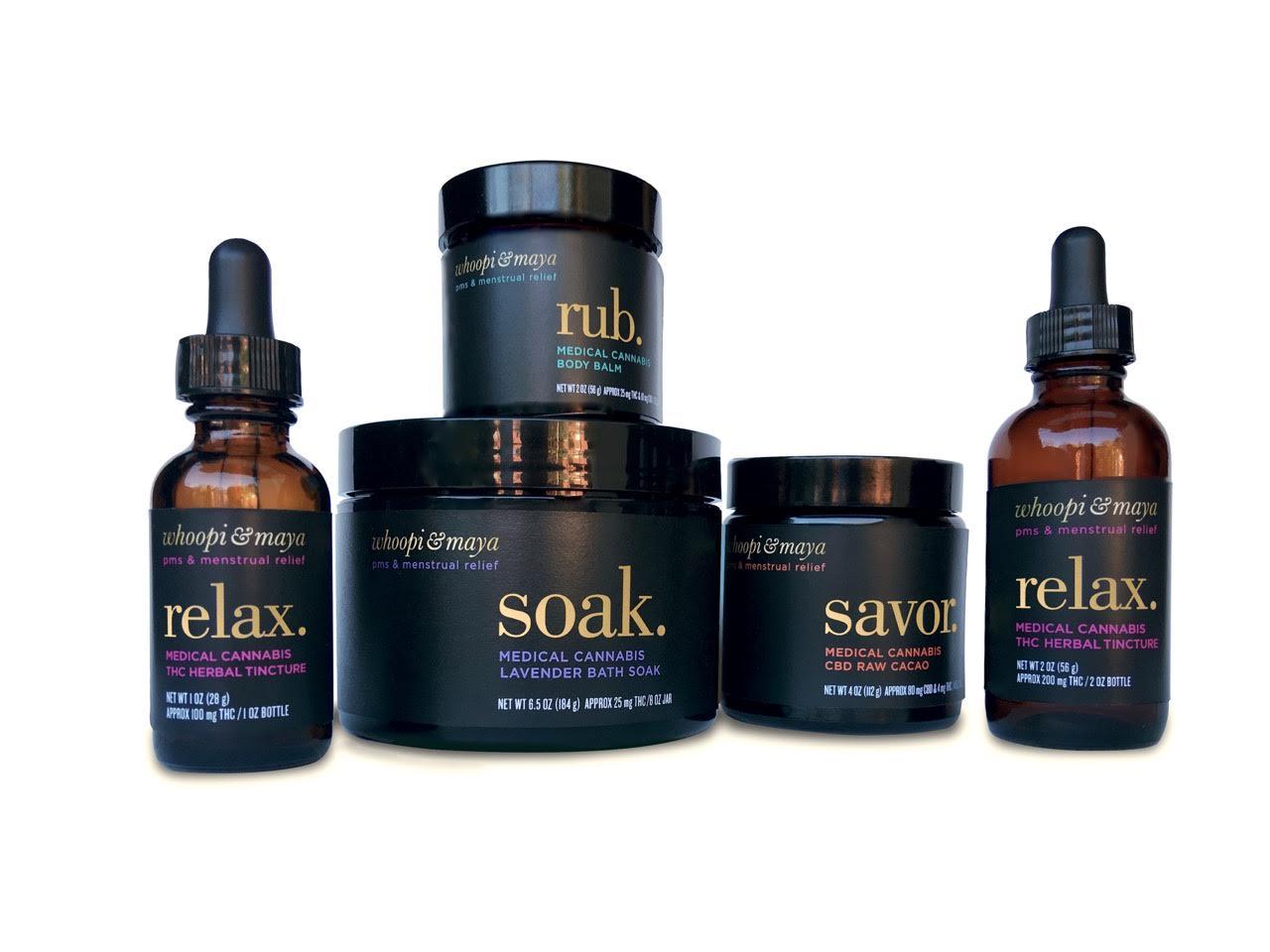 Whoopi & Maya cannabis products