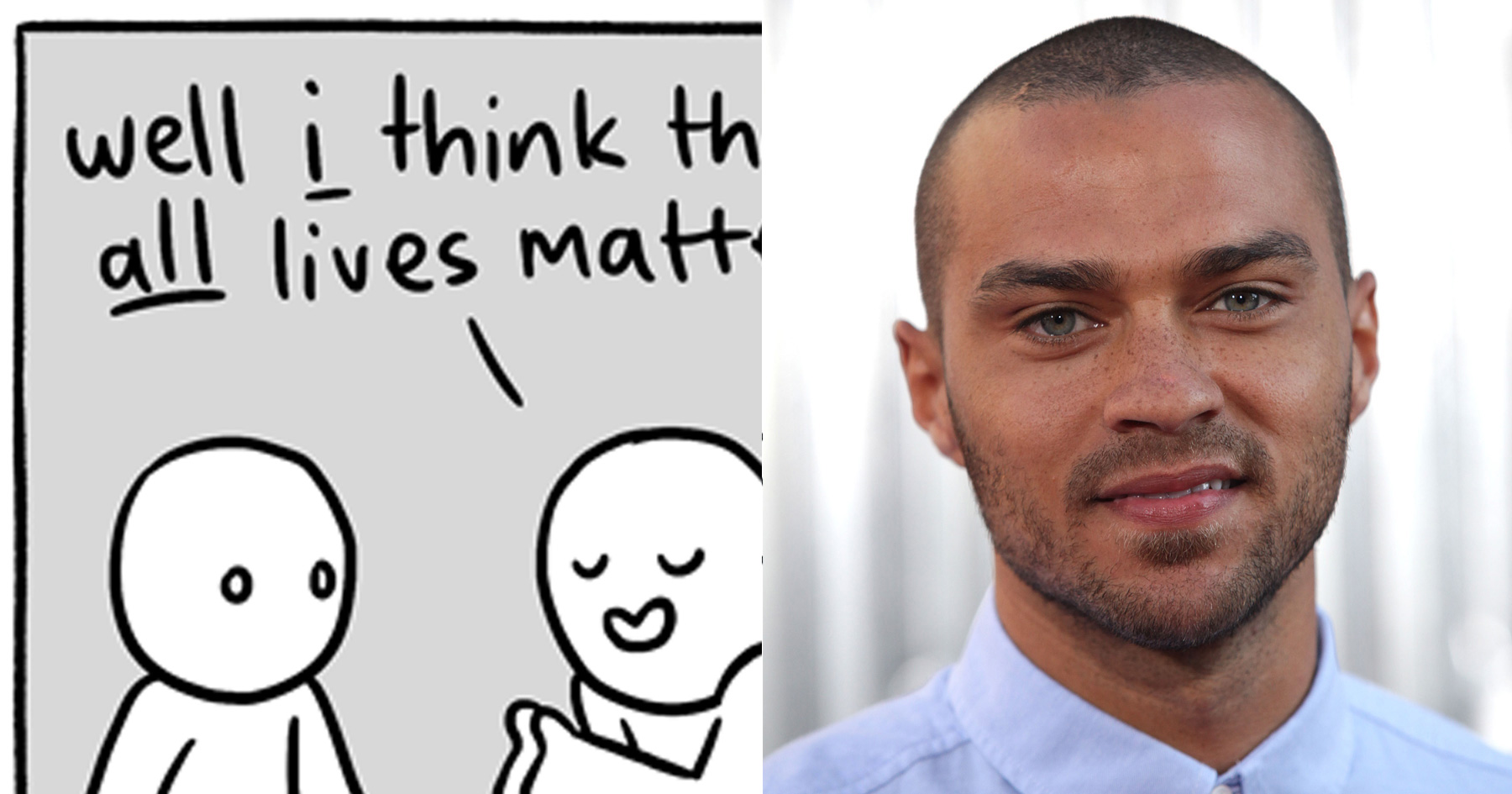 williams all houses jesse williams responds to alllivesmatter with this one brilliant,Jesse Williams Memes