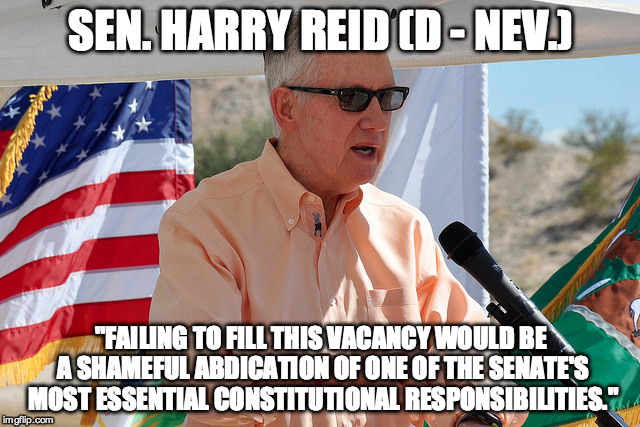 Harry Reid Scalia