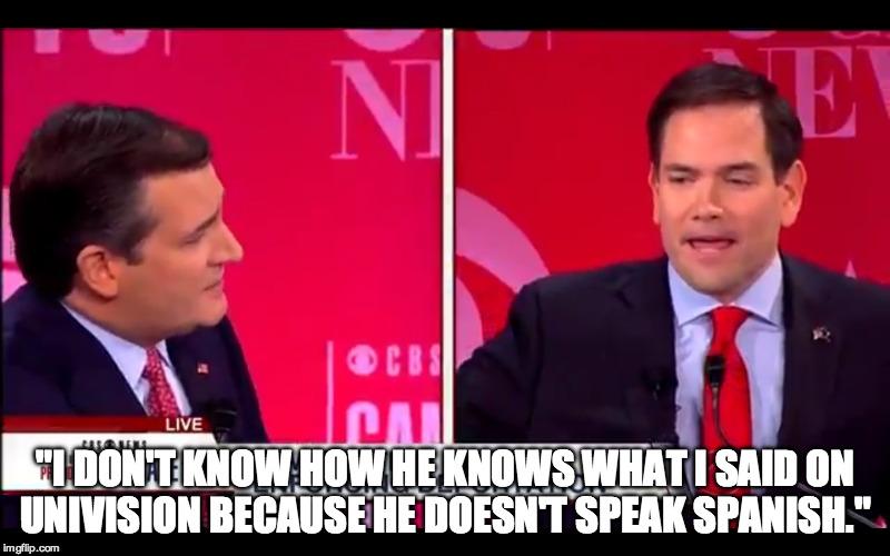 Cruz Rubio Spanish